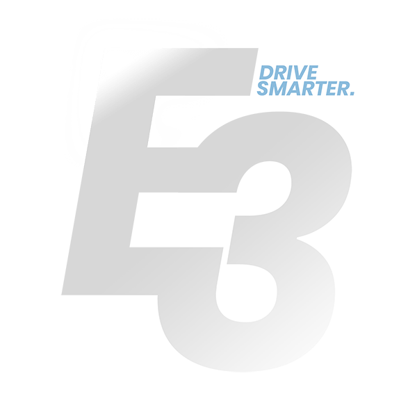 E3 - Drive smarter logo